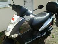 SOLD Kymco agility 125 12 months MOT low milage