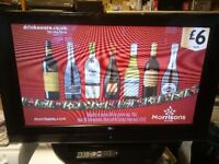 LG 42 Inch Plasma TV in Brilliant working order Just had serviced