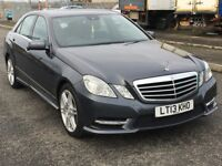 2013 Mercedes Benz E CLASS 2.1 cdi auto sport, mot - April 2019, only 48,000 miles,audi,bmw,vw,