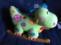 Cute Dinosaur Rocker for Toddlers