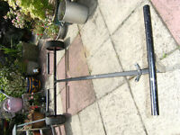 stainless steel laughing trolly