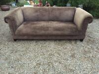 CHESTERFIELD STYLE SOFA, FREE DELIVERY