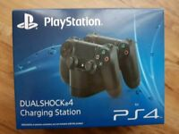 Official Sony Playstation PS4 Dual Shock 4 Charging Station Dock BNIB