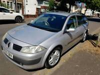 Silver Renault Megane Estate Diesel Manual Car in good condition
