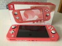 Nintendo Switch Lite w/ Animal Crossing & AC Case