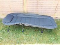 Fishing bed chair hardly used