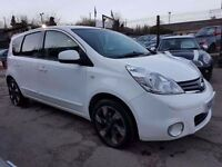 Nissan Note 1.6 16v N-TEC+ 5dr£5,795 p/x welcome 1 YEAR FREE WARRANTY. NEW MOT