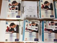 ACCA Professional learning material - partial/complete