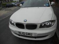 BMW 116 DIESEL 5 DOOR WHITE