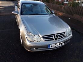 03 Mercedes CLK 270 cdi Avantgarde Coupe