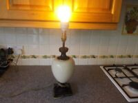 Table lamp good working condition