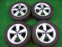 """FORD FOCUS, GALAXY, TRANSIT CONNECT, MONDEO, C-MAX, S-MAX, 16"""" inch ALLOY WHEELS"""