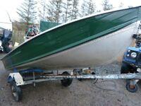 Mercury Quicksilver Alloy Boat