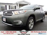 2012 Toyota Highlander V6 Limited $233.59 BI WEEKLY!!!