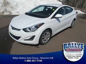 2016 Hyundai Elantra GL! ONLY 38 KM! Heated Seats! Bluetooth!