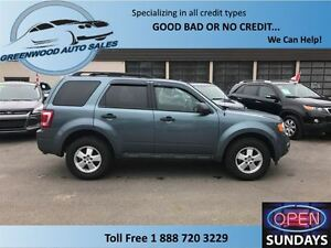 2011 Ford Escape XLT Manual 2.5L, AC, CRUISE....FINANCE NOW!!