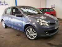 2007 Renault Clio Initiale 1.6 VVti FSH + 12 Month MOT + Leather + Cruise + Cimate Control