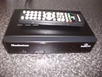 manhatten freesat hd box as new