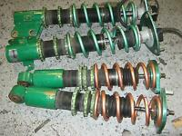 coil over adjustable tein for subaru legasy.on sale till 1st jly
