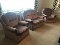 Set of sofa(two armchairs and one two seats sofa)