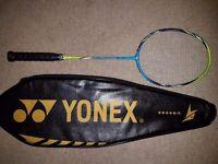 Yonex Arcsaber FB, Used, Few paint chips, Yonex's lightest racket (77g), £60 ONO (£107 RRP)