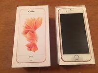Apple Iphone 6s 16GB Rose Gold Vodafone/TalkMobile/Lebara