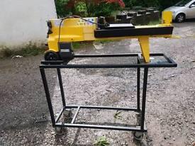 Electric hydraulic log splitter