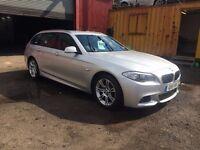 BMW 520 ESTATE SLIVER £6500