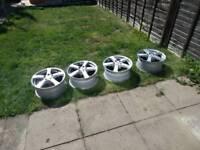 5x112 Alloy wheels