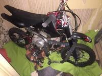 2012 Stomp 110 110cc pit bike not demon x wpb