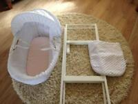 Moses basket with stand John Lewis