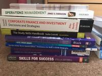 University Business/Management/Finance/Accounting/Law/Marketing Textbooks
