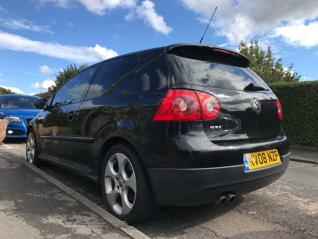vw golf gti 2008 black in coventry west midlands gumtree. Black Bedroom Furniture Sets. Home Design Ideas