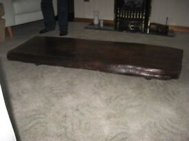Solid wood, Unique Coffee Table.
