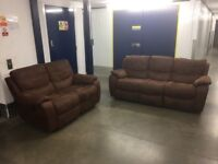 Harveys 3 and 2 Seater Reclining Sofa - Delivery Available!