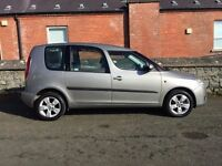 Immaculate late 2006 Skoda Roomster 2 1.4 16v. trade in considered, credit cards accepted