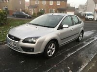 * FORD FOCUS 2007 1.8 petrol * FSH * SILVER *only 79k * YEARS MOT * ZETEC CLIMATE