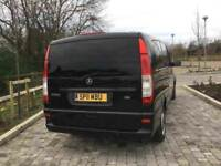 Mercedes Vito 9 seats Automatic only £9800
