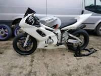 Yamaha r6 5eb track/race bike