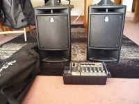 Yamaha 300 watt p/a system for sale £300 ono