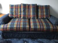 Sofa bed with mattress, opens to small double, good clean condition. FREE but must be collected.