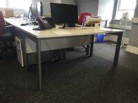 Office Desks (very good condition) 160cm x 80cm (Job lot - 4 for sale)