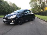 "(2012) Stunning black limited edition Corsa ... 17""alloys... VXR body styling...."