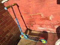 Boy's scooter Toy Story