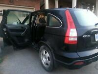 Extra Clean Honda CRV LX with winter tires