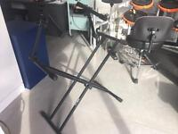 Quiklock Keyboard Stand - Double for live and studio