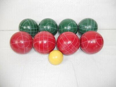 VGC EDDIE BAUER GREEN CIRCLE PATTERN BOCCE BALL