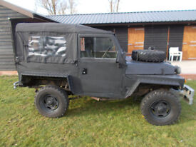 military land rover lightweight v8 offroader