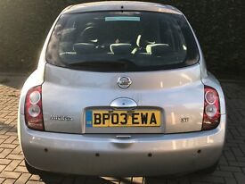 2003 NISSAN MICRA 1.4 AUTOMATIC + HIGH MILES! + LOW PRICE!
