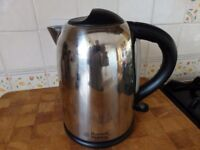Russell Hobbs chrome kettle & Tefal toaster